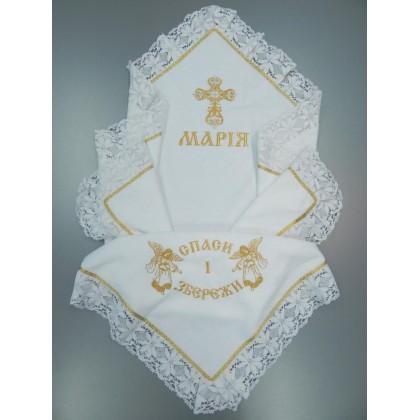 Утеплённая крыжма для девочки «Марийка»