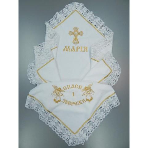 Крыжма для девочки «Марийка»