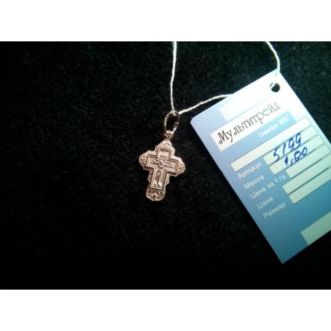 Крестик серебряный. Артикул: 5199