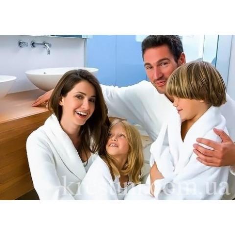 """Комплект махровых халатов для всей семьи с именной вышивкой """"Zot'ko Family"""""""